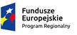Logo: w lewej części obrazka gwiazdy biała, żółta, czerwona na niebieskim tle. W prawej części napis: Fundusze europejskie Program regionalny.